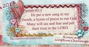 Hymn & Scripture Challenge 2013