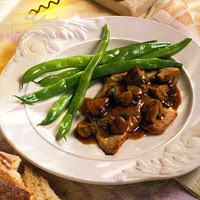 Veal Scaloppine with Marsala