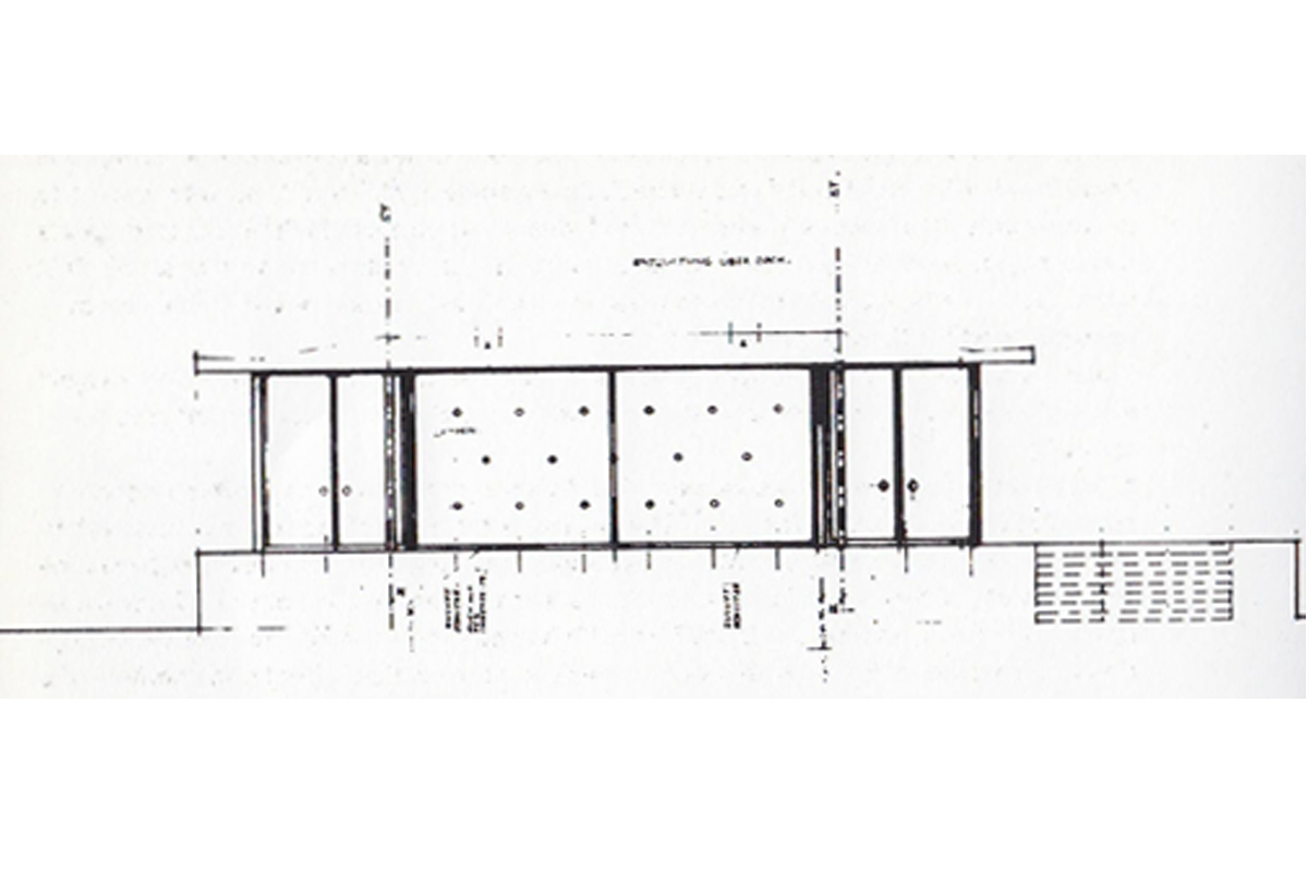 Barcelona pavilion section drawing - Barcelona Pavilion Dimensions Barcelona Pavilionbarcelona Pavilion Plan Dimensions