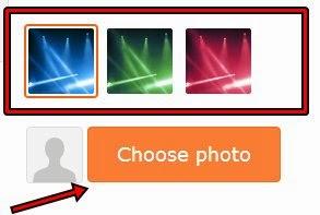 Fazer o upload da foto