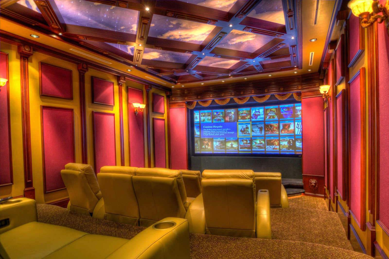 20 home theater creative design ideas cool stuff Home movie theater