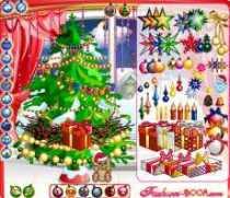 Arbol de navidad virtual juego en flash navidad 2011