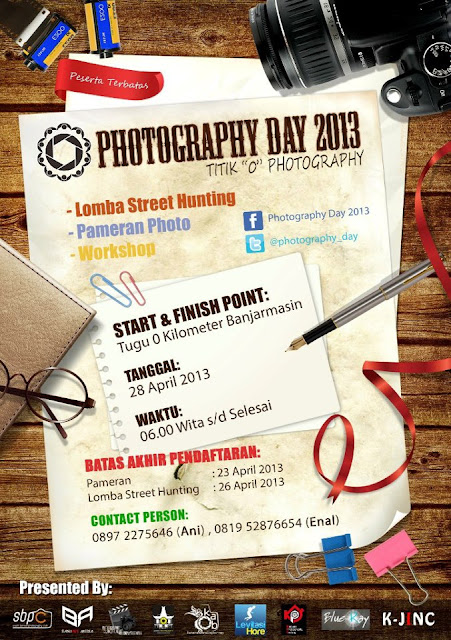 PHOTOGRAPHY DAY 2013 - event fotografi april 2013 di Banjarmasin