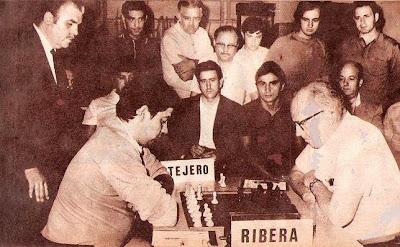 Partida de ajedrez Fermín Tejero – Ángel Ribera, Trofeo Dicen 1970