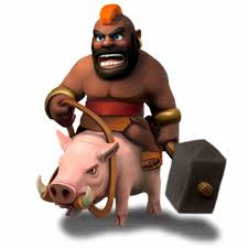 Montapuercos clash of clans