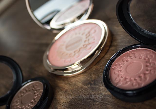 rouge lidschatten artdeco look Sommer bronze makeup summer glow
