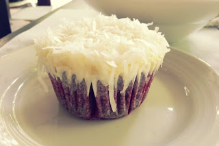 red velvet cake with coconut cream cheese frosting (By Fooding Singapore)
