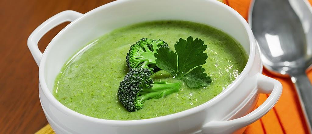 Sopa verde light