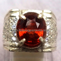 Batu Permata Natural Hesonite Garnet