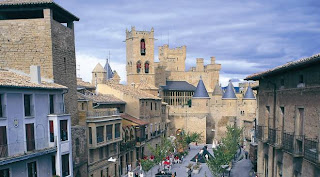 olite, ciudad medieval