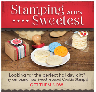 Stampin' Up! sweet pressed cookie