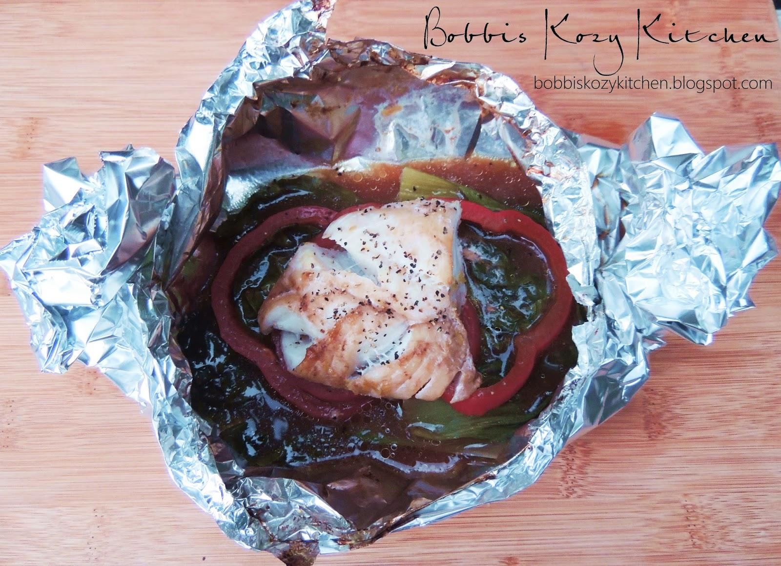 Citrus soy cod in foil bobbi 39 s kozy kitchen for Is cod fish kosher
