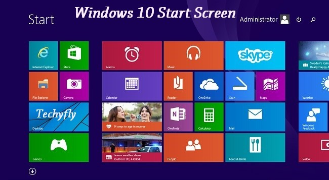 how-to-get-back-start-screen-in-windows-10