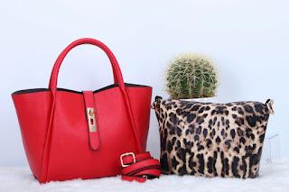 Tas KW Fashion Morica 2in1 Semi Premium 871RJ Jakarta