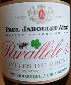Notre vin de la semaine est ce très bon rouge bio des Côtes du Rhône !