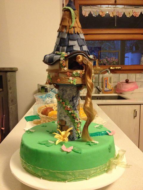 la pasticciona di 39 anto torta di compleanno rapunzel. Black Bedroom Furniture Sets. Home Design Ideas