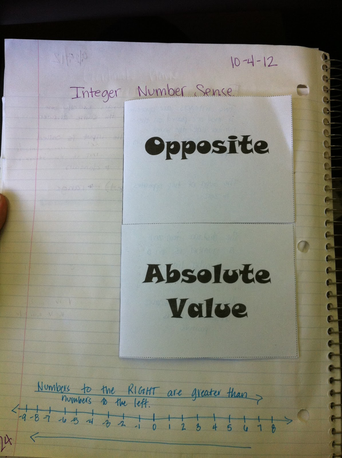 Absolute Value Project   Algebra, Math and School