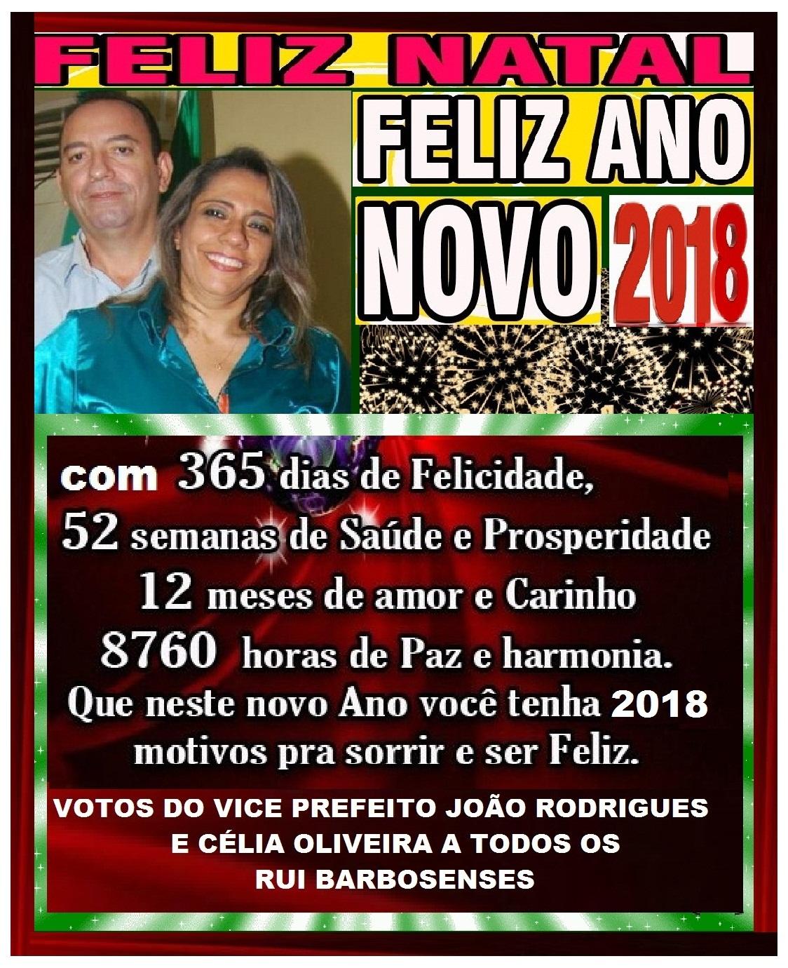 MENSAGEM DO VICE PREFEITO JOÃO RODRIGUES