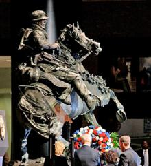 Obama Forgets Memorial to Horse Soldiers Near Ground Zero