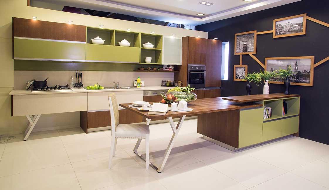 Interwood launches tastefully designed italian kitchens for Interwood kitchen designs pakistani