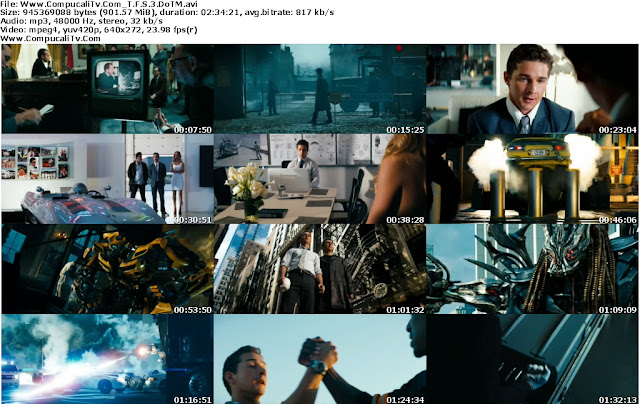 Transformers 3 El Lado Oscuro De La Luna [Dark Of The Moon] DVDRip Español Latino 1 Link
