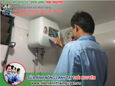 Sửa bình nóng lạnh tại Thái Nguyên