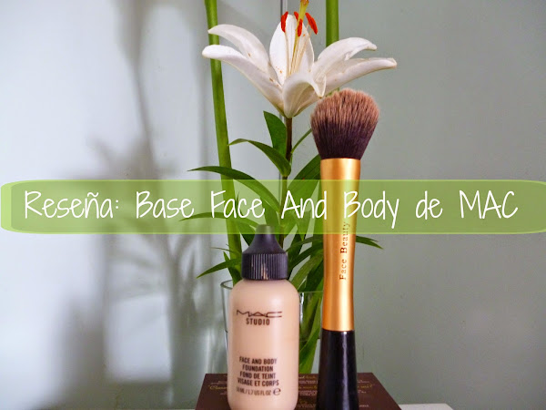 Reseña Base Face and Body de MAC