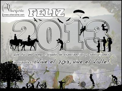 Feliz 2013 desde el Valle del Jerte