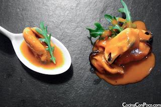 Mejillones con salsa al brandy - Receta facil paso a paso