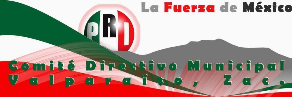 PRI Valparaíso, Zac. .::. Compromiso con Valparaiso .::.