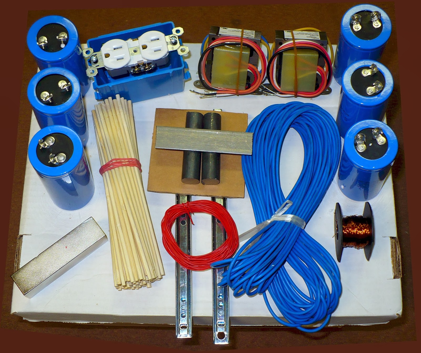 "The Hendershot Electromagnetic Generator ""DIY"" Kit"