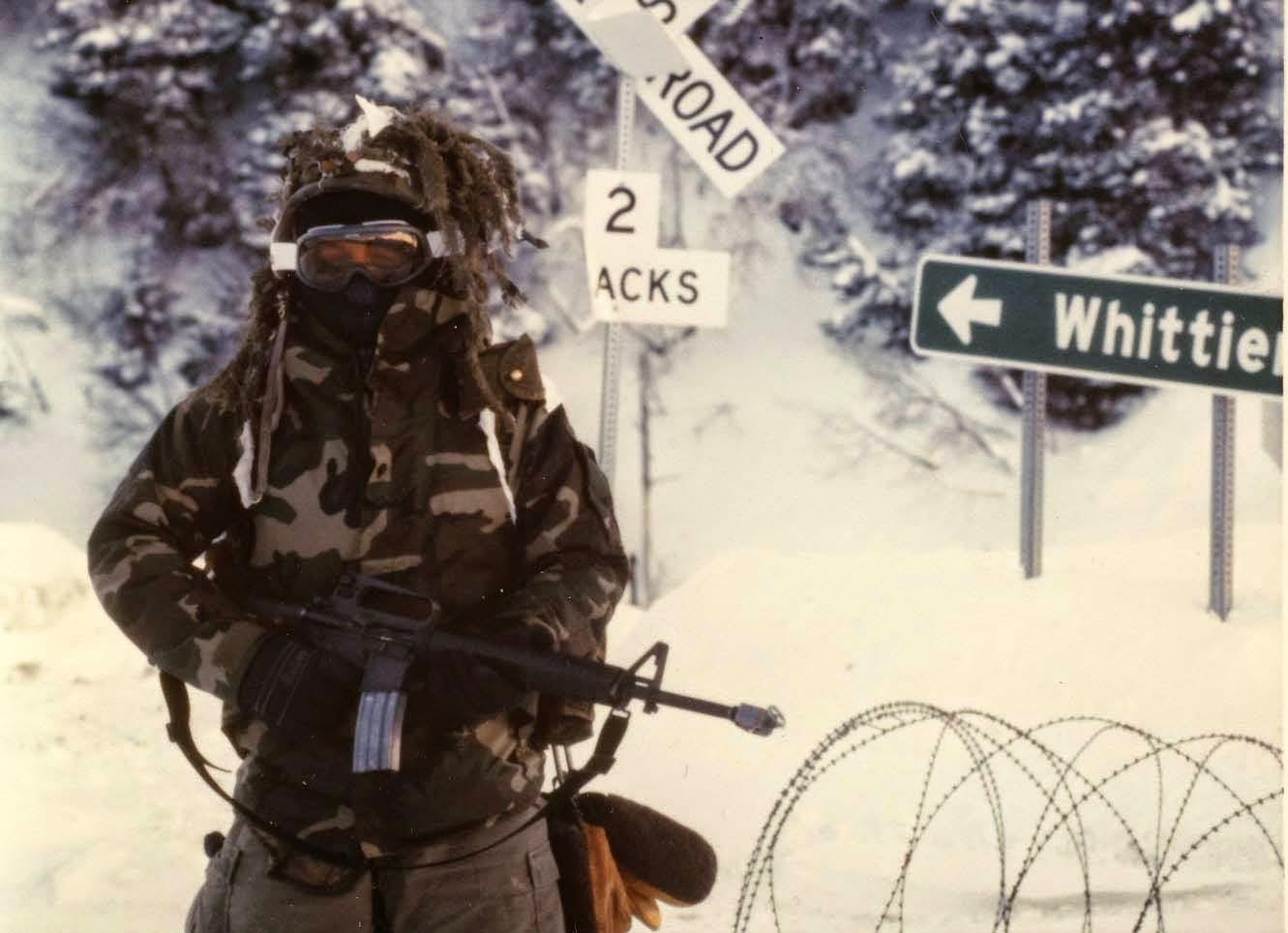 Specialist Kevin Breen, 2nd Batt. 17th Inf. Fort Richardson, Alaska, Feb. 1989