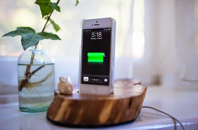 Reciclar - Base para móvil de madera handmade5