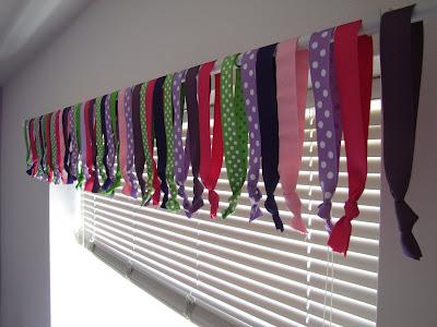 Superb DIY Ribbon Curtain Or Valance