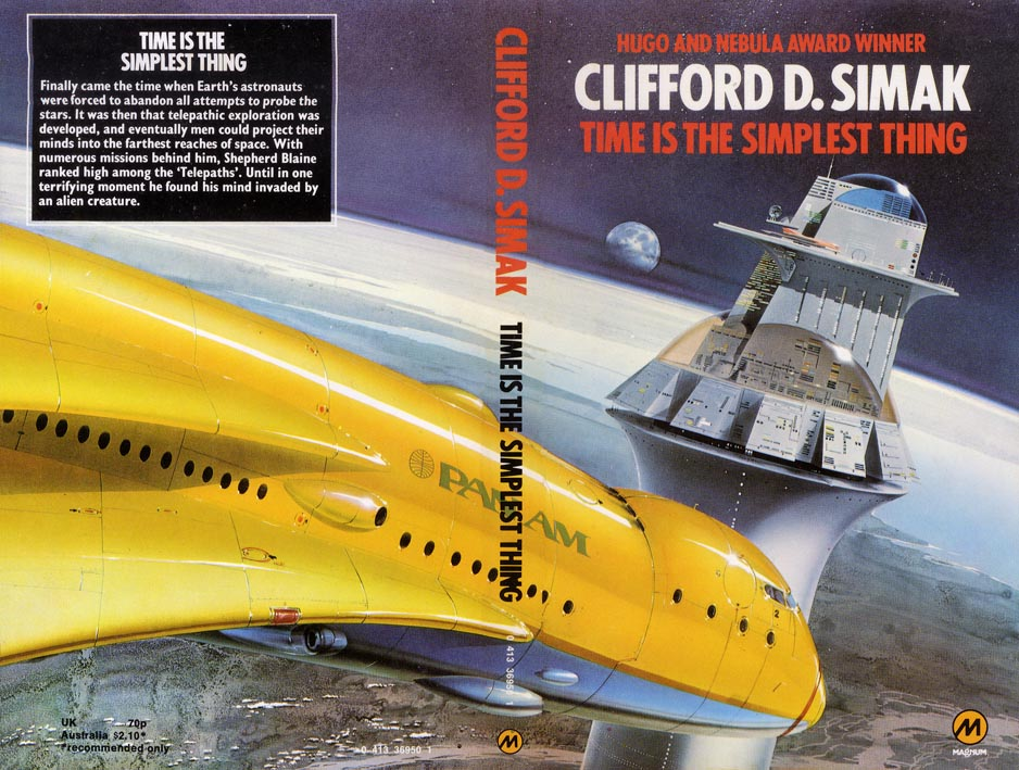 Simak, clifford - thing in the stone Foto