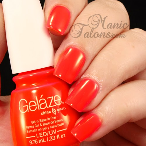 Gelaze Gel Polish Pool Party Swatch