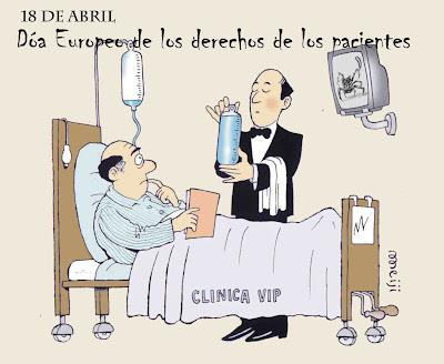 el 18 de abril es el día europeo de los derechos de los pacientes