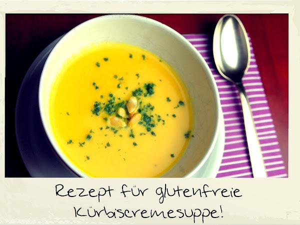 REZEPT: glutenfreie Kürbiscremesuppe