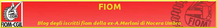 RSU FIOM Antonio Merloni in A.S.