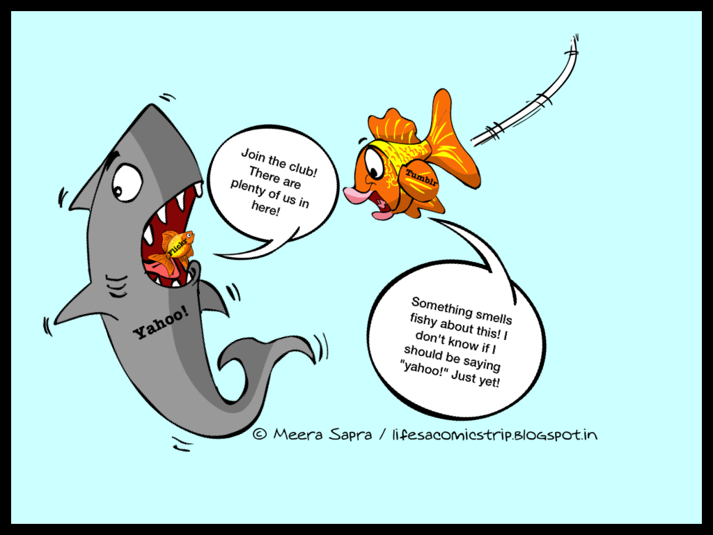 Funny fish comic - photo#1