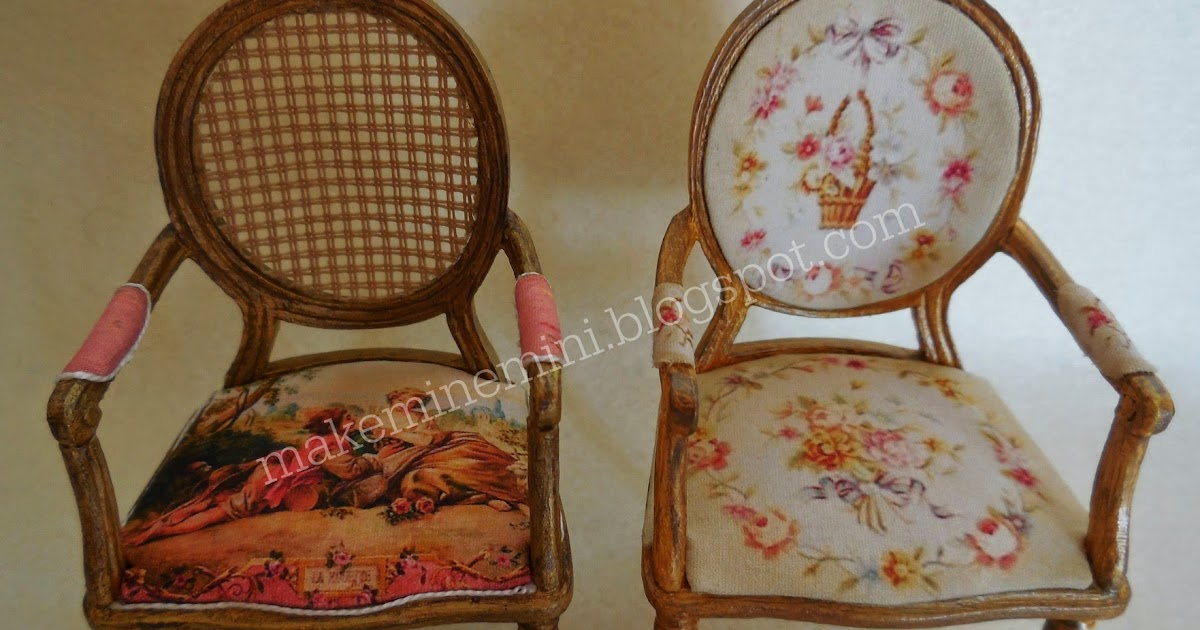 make mine mini: My French chairs for sale