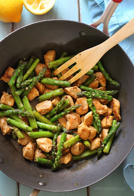 Chicken Asparagus Stir Fry Chicken and Asparagus Lemon Stir Fry