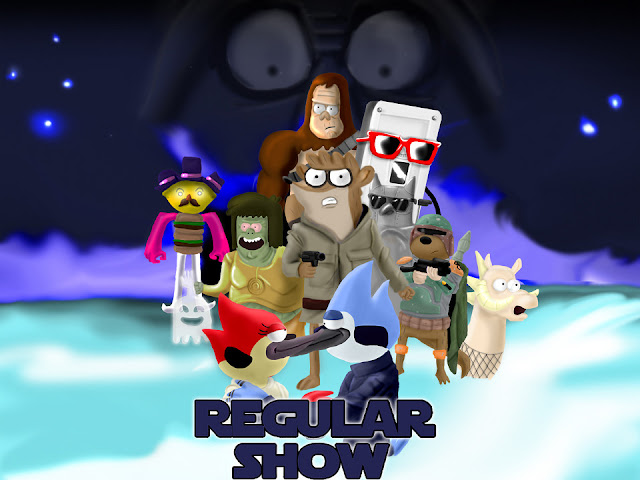 Regular Show Strikes Back por mattbyles