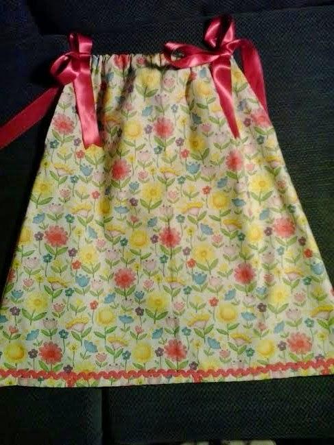 vestido veraniego con estampado de flores