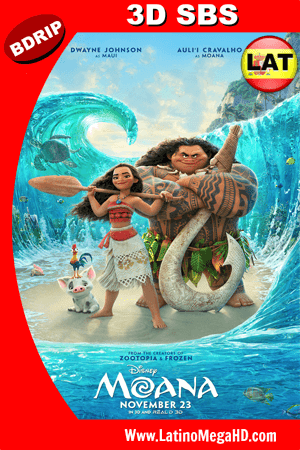 Moana: Un Mar de Aventuras (2016) Latino FULL 3D SBS BDRIP 1080p ()