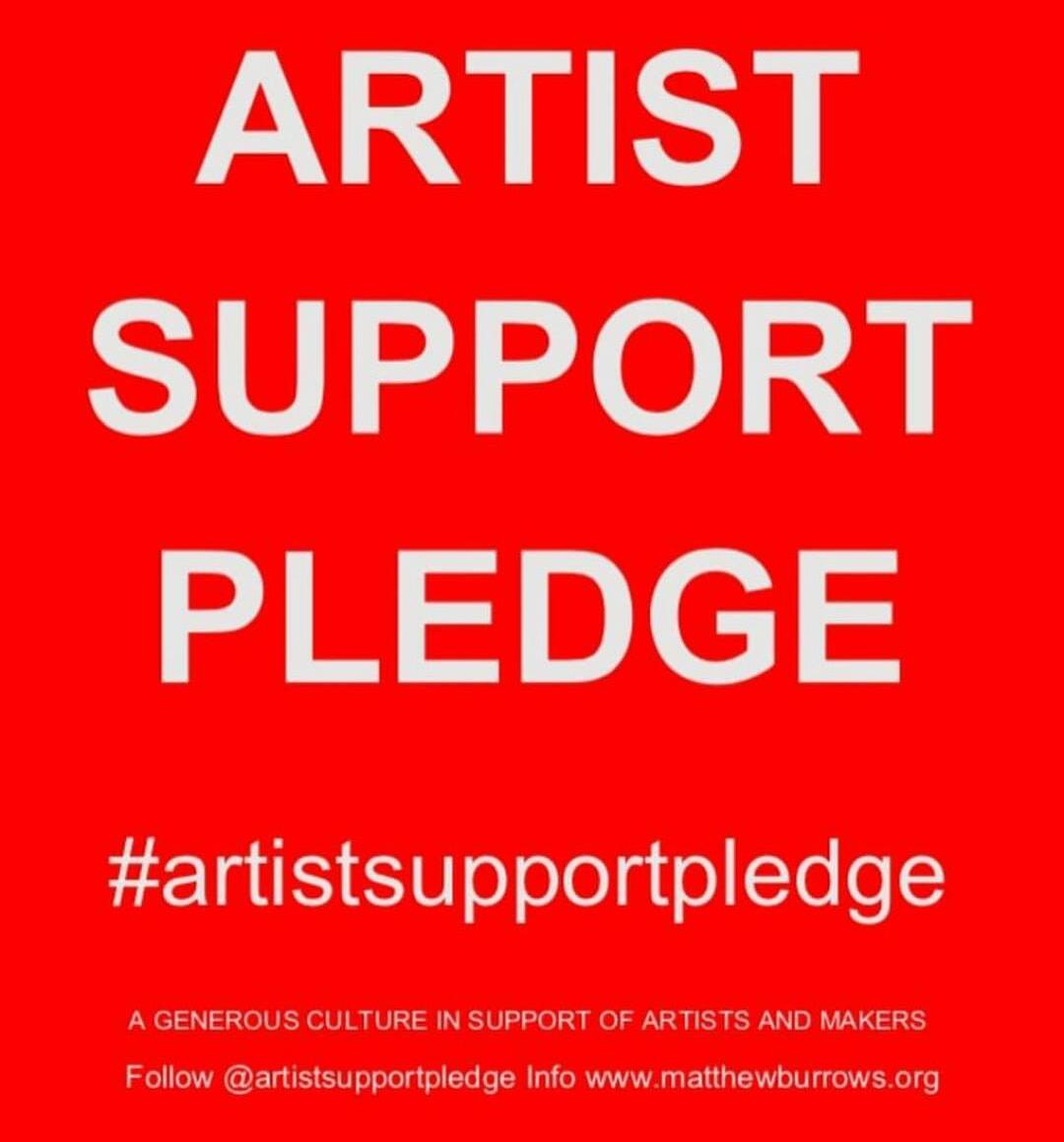 #artistsupporpledge