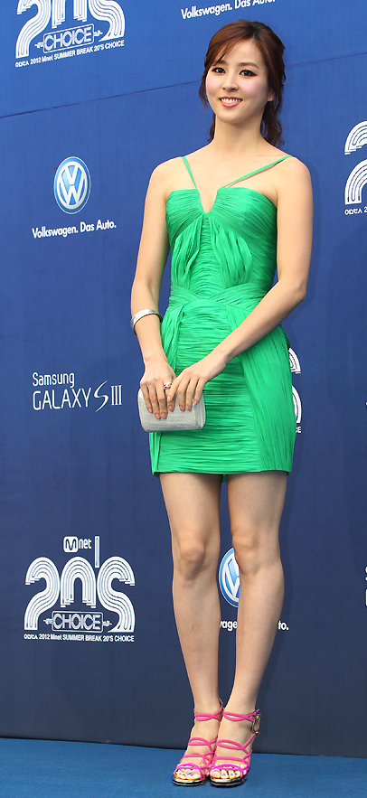 Han Hye Jin (한혜진) - Cable TV Mnet 20's Choice Awards (20's choice)  Blue Carpet ceremony from 06 June 2012
