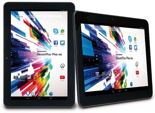 Design del tablet Kitkat serie HD Pro 3G di Mediacom da 10 pollici