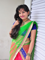 New Actress Roshini Dazzling photo shoot-cover-photo