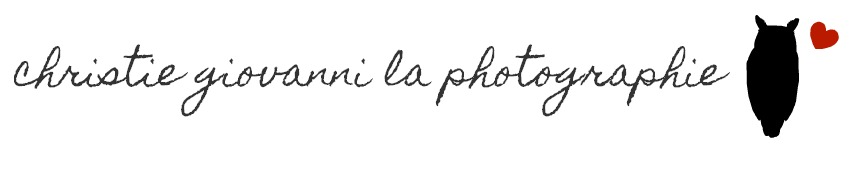 .♥ christie giovanni la photographie ♥.